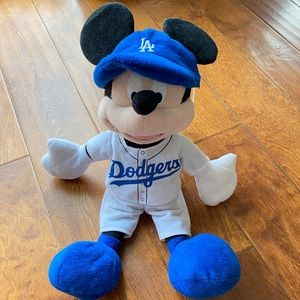 Los Angeles Dodgers Disney Mickey plush